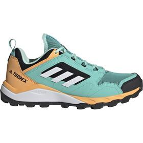 adidas TERREX Agravic TR Trail Running Shoes Women, Turquesa/naranja